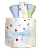 Trend Lab Hooded Towel Gift Cake, Dr. Seuss One Fish Two Fish