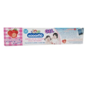 Kodomo Baby Gel Toothpaste Strawberry Flavour Sugar Free for 6 months up
