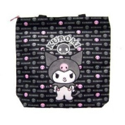 Sanrio Kuromi Black and Pink Large Tote Bag Officially Licenced Hello Kitty P...
