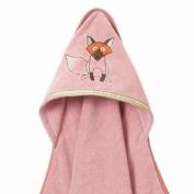 Breganwood Organics Woodland Collection - Playful Fox Hooded Towel