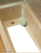 Safe Way Traction 40.6cm X 86.4cm White Adhesive Vinyl Anti Slip Non Skid Safety Bath Mat