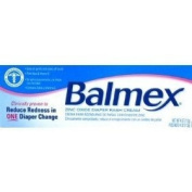 Balmex Nappy Rash Cream with Zinc Oxeie & Vitamin E, 120ml/ 2 Pack