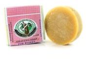 Tierra Mia Organics, Raw Goat Milk Soap, Shaving Soap for Women, 0.07kg