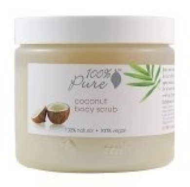 100% Pure Body Scrub - Coconut Body Scrubs