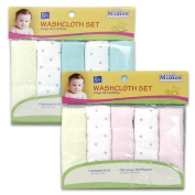5pc Baby Washcloths Set