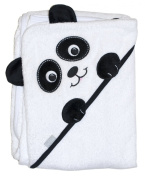Frenchie Mini Couture Extra Large 101.6cm x76.2cm Absorbent Hooded Towel, Panda