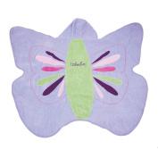 One Step Ahead Kids Hooded Butterfly Towel .