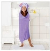 Children's Hooded Bath Beach Towel Monkey by Jumping Beans