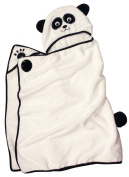 Panda - One of a kind and extra large Character Towel with paws and a tail, by Frenchie Mini Couture