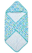 Blue Delicious Dots Hooded Towel