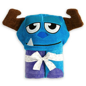 Disney Monsters, Inc. Sulley Sully Hooded Towel for Baby Toddler Boys Girls