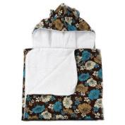 My Blankee Choco Lucky Girl Hooded Terry Towel - 66cm X 106.7cm