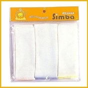 Organic Washcloth Set for baby/Infant -7.6cm a pack-White and Soft-Easy to Dry
