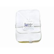 Under the Nile 12 Piece Year Round Basics Sherpa Wash Cloth, White