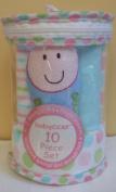 Cutie Pie Baby Washcloths Set - Pink