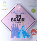 Safety 1st Disney Princess Cinderella Baby on Board Car Window Sign