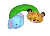 Fisher-Price Rainforest Nap Buddy Travel Pillow