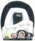 Jolly Jumper Head Hugger Baby Head Support 7.6cm 1 Pillow - Black