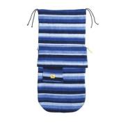 Buggysnuggle Fleece Footmuff (Blue Stripe) [Baby Product]