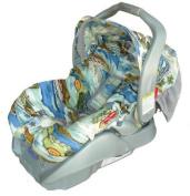 Patricia Ann Designs California Dreamin Infant Carseat Cover