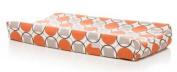 Sweet Potato by Glenna Jean Echo Changing Pad Cover Circle Print