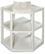 Badger Basket Nappy Corner Changing Table, White [Baby Product] NoPart
