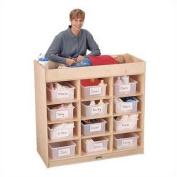 Jonti-Craft Changing Table with 12 Tubs