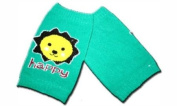 "HAPPY GREEN - KNEE PROTECTOR Baby Leggings/Leggies/Leg Warmers for Cloth Nappies - GIRLS OR BOYS & ONE SIZE by ""BubuBibi"