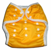 One Size Fit All- Nappy Covers for Prefolds or Regular Inserts PUL - YELLOW