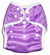 One Size Fit All- Nappy Covers for Prefolds or Regular Inserts PUL - PURPLE