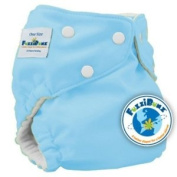FuzziBunz Elite One Size Cloth Nappy Tootie Frootie **Bonus** Samples of Rockin' Green Soap and Tooth Tissues