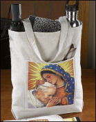 Our Lady of Guadalupe John Paul II Devotional Religious Women's Hand Tote Bag
