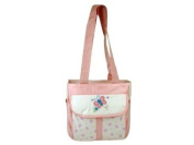 Tender Kisses Pink Butterfly Cooler Nappy Tote Bag