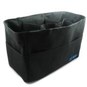 KF Baby Nappy Bag Insert Organiser - 12 x 16.3cm x 20.3cm , Black