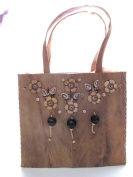 Eco Friendly Coconut Seed and Shells Handbag Made in the Philippines