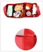 Baby Bottle Nappy Bag Organiser / Divider - Black