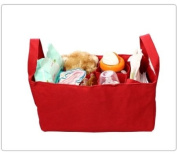 Baby Bottle Nappy Bag Organiser / Divider - Red