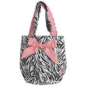"Shopping bag 'french touch' ""Hôtesse"" zebra."