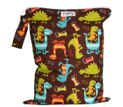 Snuggy Baby Large Wet Bag - Dino Dudes