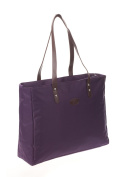Bellotte Designer Shopper Tote Nappy Bag in Plum