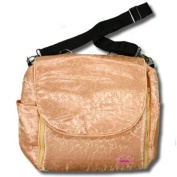 Gold Vines Silk Boutique Nappy Bag
