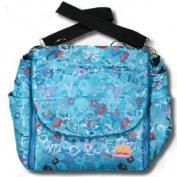 Blue Hawaii Silk Boutique Nappy Bag