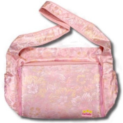 Creame Flowers Silk Boutique Nappy Bag