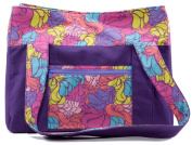 C.R. Gibson Iota Parent/Baby Carry All, Groovy Girl