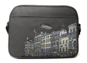 Caven Metro Nappy Bag, London Grey