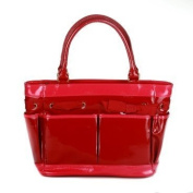 Cynthia Rowley Patent Leather Nappy Bag