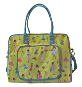 Room Seven Nappy Bag, Dressing Dolls Yellow