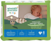 Seventh Generation Baby Overnight Nappies Stage 6 -- 17 Nappies
