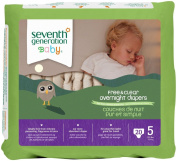 Seventh Generation Baby Overnight Nappies Stage 5 -- 20 Nappies