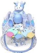 1 Tier Boy's Nappy Cake